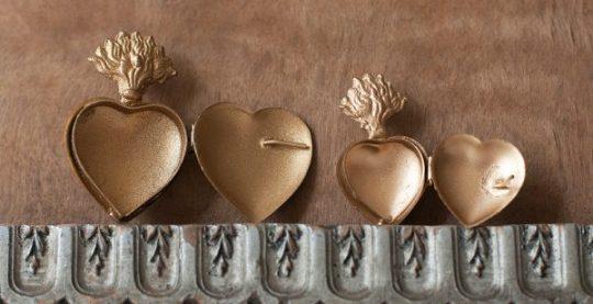 mini boites coeur