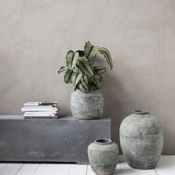 Grand vase rustique