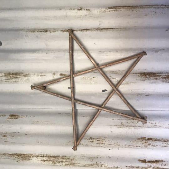 Étoile en bois petite