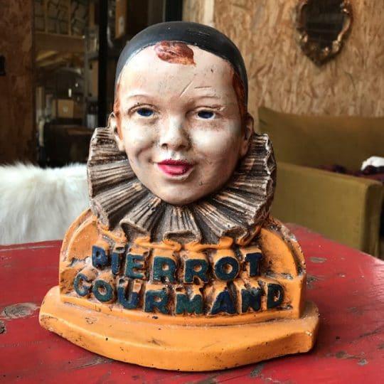 présentoir vintage Pierrot Gourmand