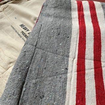 Couverture en coton recyclé – Puebco