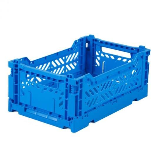 MINI caisse pliante bleue roi