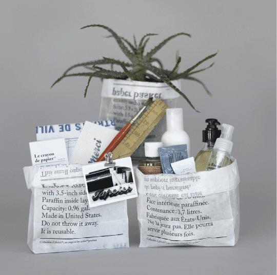 corbeille en papier be-poles