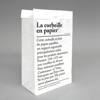 La corbeille en papier – be-poles