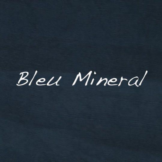 Teinture bleu mineral
