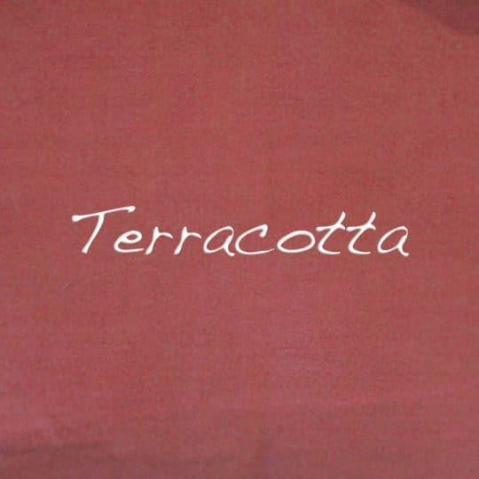 teinture terracotta