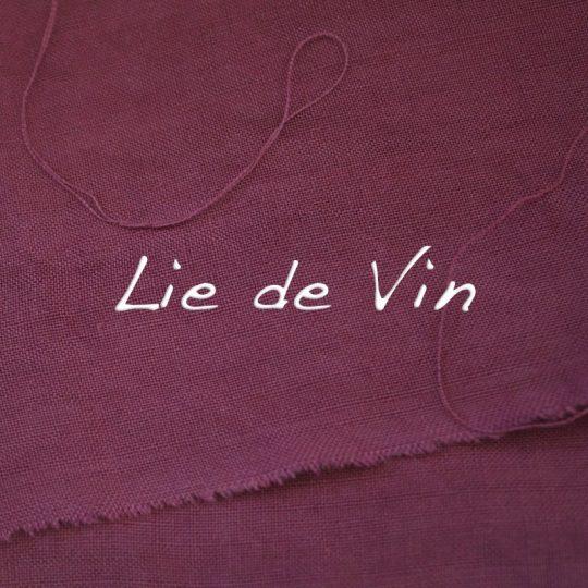 teinture lie de vin