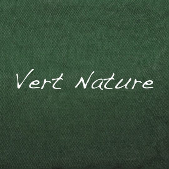 teinture vert nature