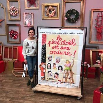 """Affiche de Cinéma """"Le père Noël est une ordure"""""""
