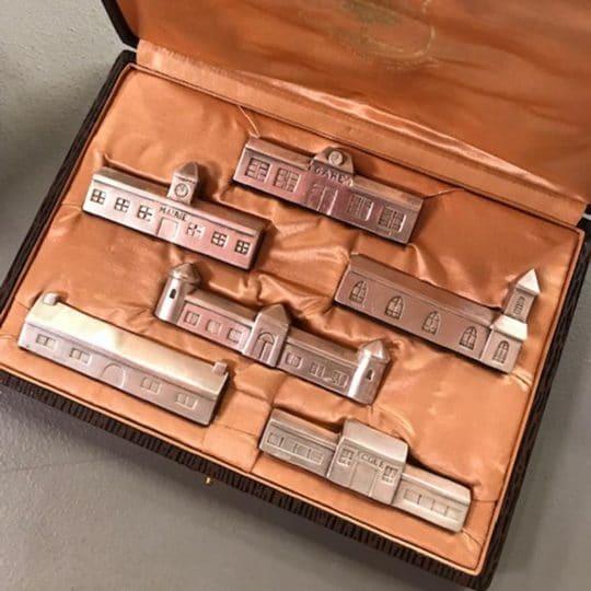 Coffret porte couteaux Gallia vintage