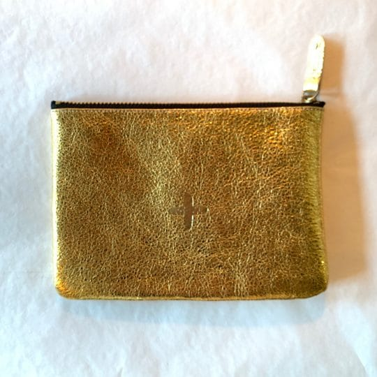pochette love gold