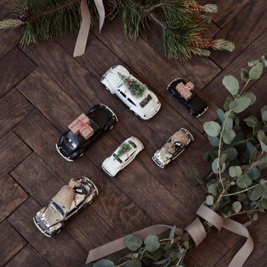 voiture de noël décoration