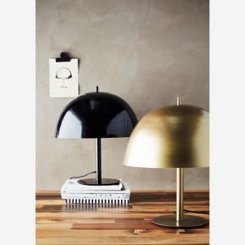 Lampe champignon en laiton