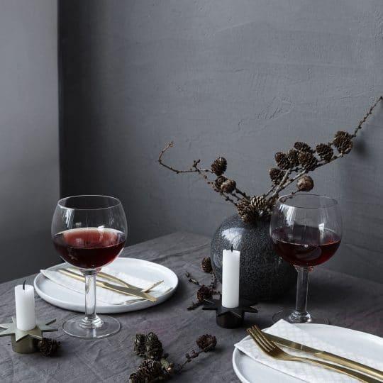 verre à vin rond