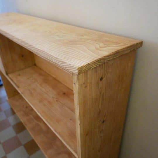 Bibliothèque en pin bois