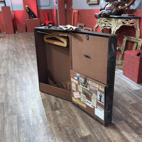 Valise cabine vintage affaire conclue