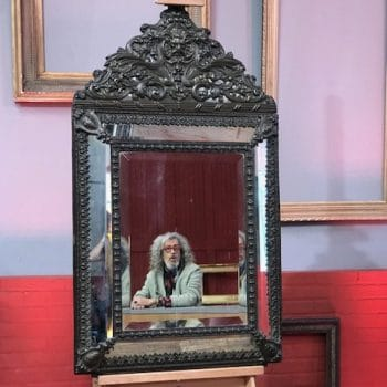 Miroir Napoléon III à parcloses