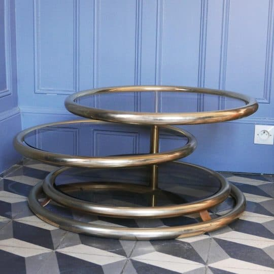 Table pivotante vintage