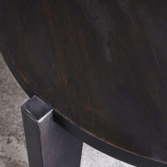 table basse manguier bali noir détails house doctor