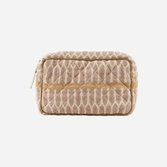 trousse de toilette meraki moutarde terracotta sable