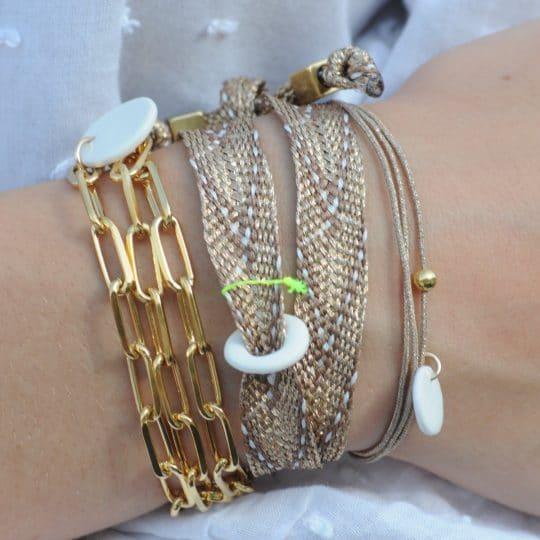 collier triplette bracelet margote céramiste