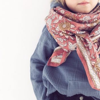 Grand foulard en coton – Apaches Collections