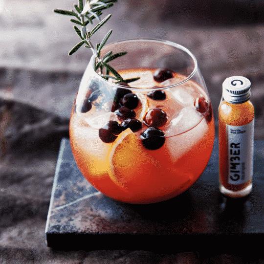 boisson concentrée gingembre et citron bio