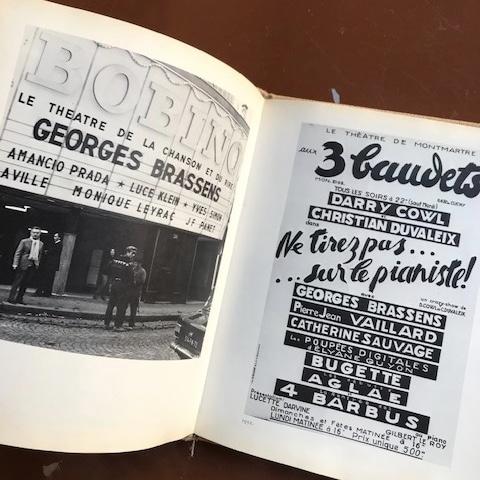 livre georges brassens original