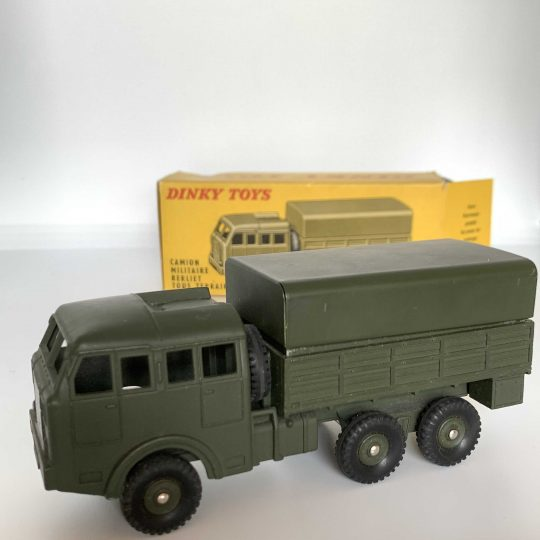 dinky toys camion militaire 80D