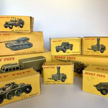 Miniature Dinky Toys