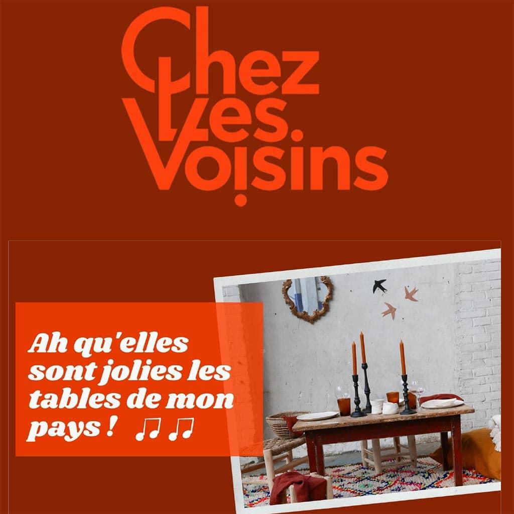 Newsletter jolies tables