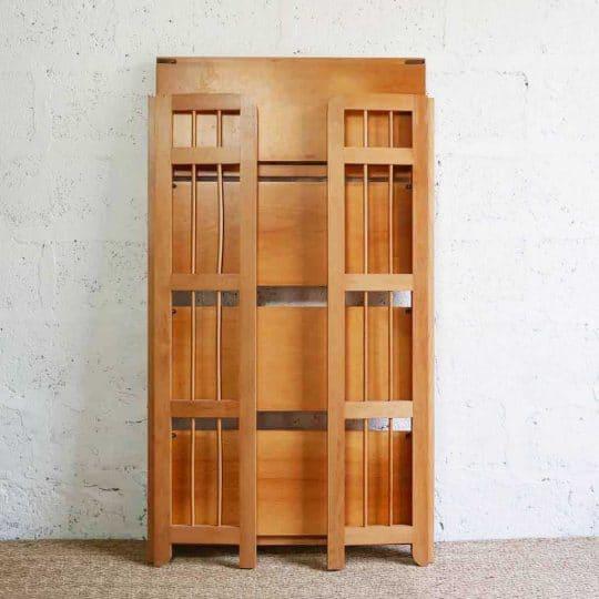étagère de bouquiniste vintage