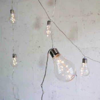Guirlande lumineuse ampoules à led
