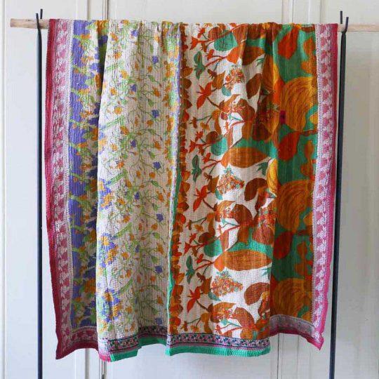 Kantha vintage patchwork dos