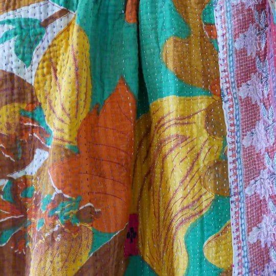 Kantha vintage patchwork original