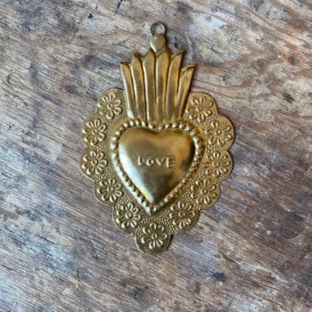 Coeur Flower Love gold – Boncœurs