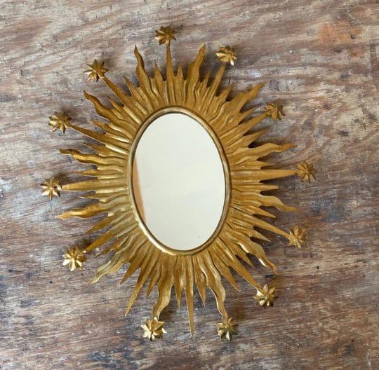 Miroir Celeste gold