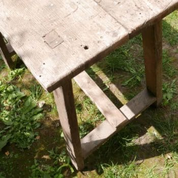Table / établi en bois