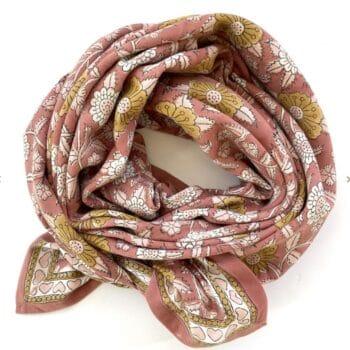 Grand foulard en coton – Apaches Collections