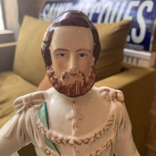 Statuette Prince de Galles