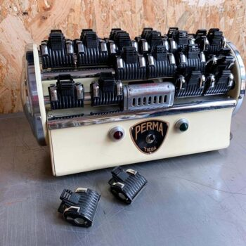 Ancienne machine à permanente