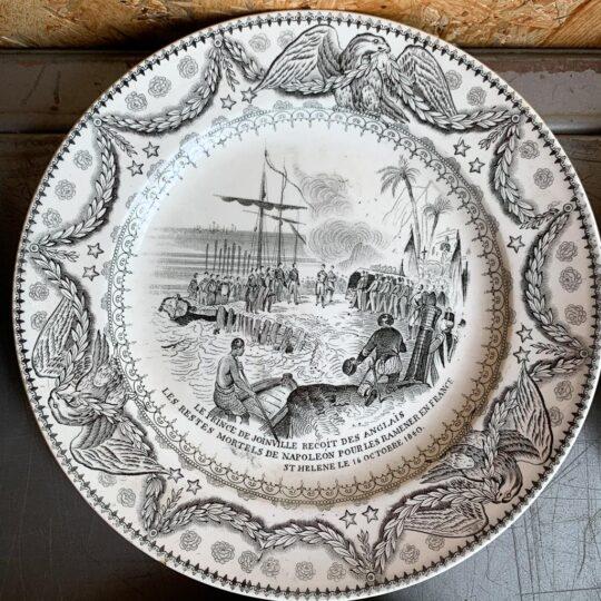 assiettes napoléon