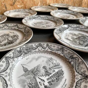 Assiette retour des cendres de Napoléon • AFFAIRE CONCLUE