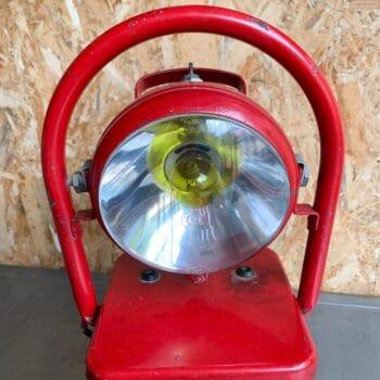 Lampe de pompier portative