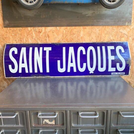 plaque émaillée Saint Jacques