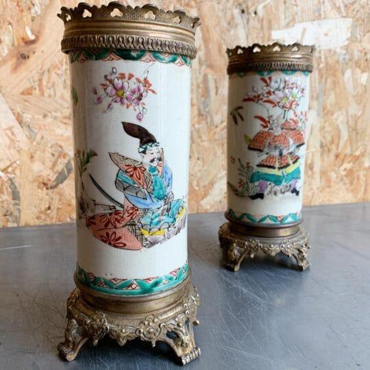vase rouleau asiatique