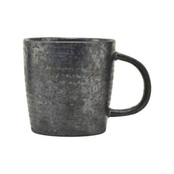 Tasse en grès noir