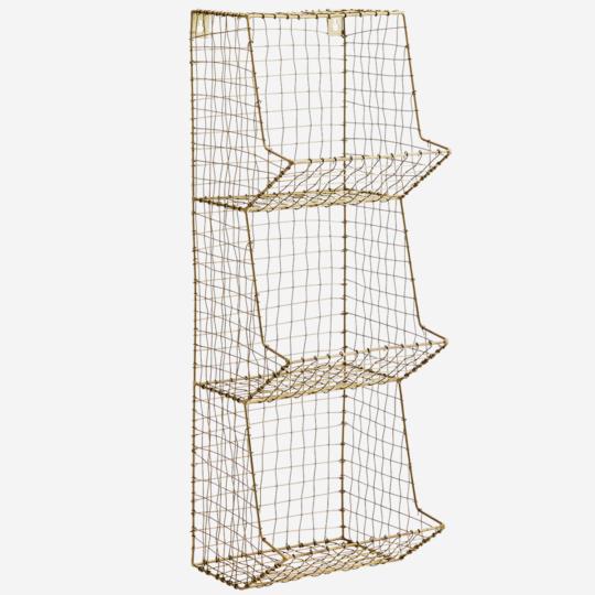 tz - etagère à 3 etages en laiton