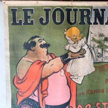 """Affiche """" La Loupiote"""""""