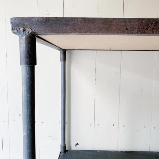 Table roulante en métal